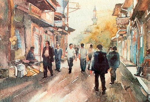 izmir-tilkilikteki-caddeden-gorunum