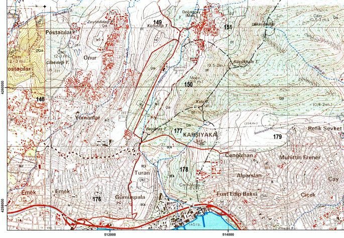 Atatürk Ormanı Harita 002