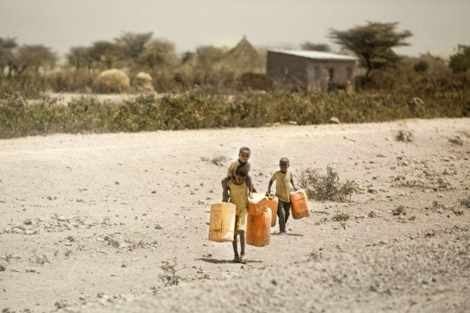 Melih Cevdet Tekşen - Sergileme - Etiyopyalı Çocuklar