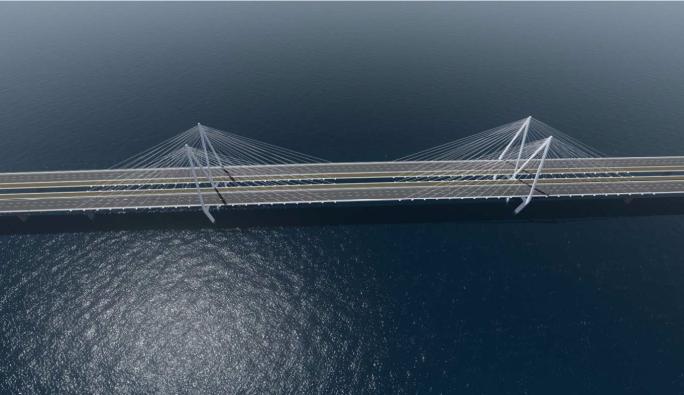 01.30 - Körfez Köprüsünün Bitmiş Durumunun Bilgisayar Ortamında Modellenmiş Görüntüleri (B)