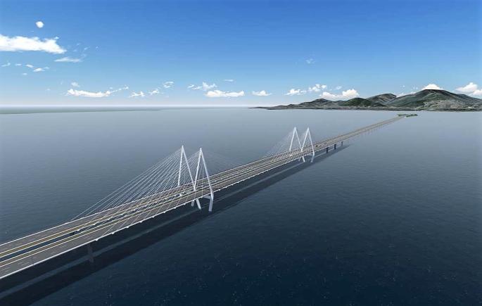 01.30 - Körfez Köprüsünün Bitmiş Durumunun Bilgisayar Ortamında Modellenmiş Görüntüleri (C)