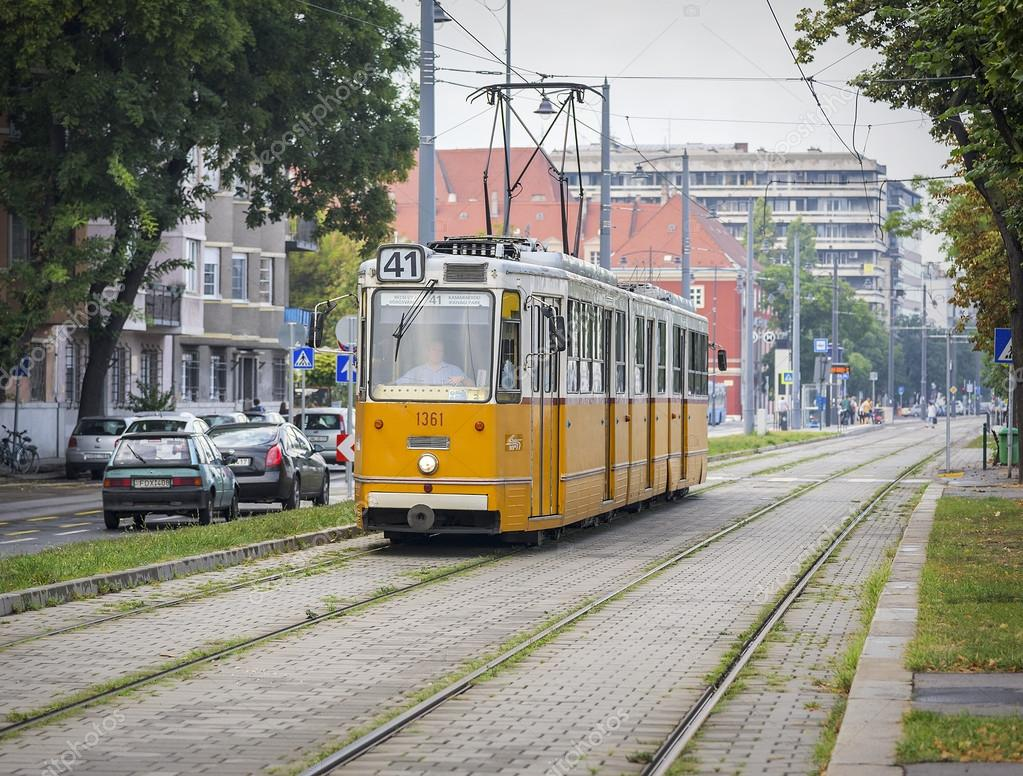 Budapeşte Tramvay
