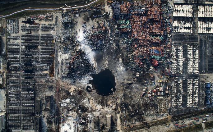 Chen Jie, China, Tianjin Explosion