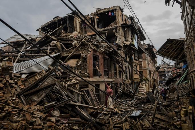 Daniel Berehulak, Australia, An Earthquake's Aftermath Kathmandu 001