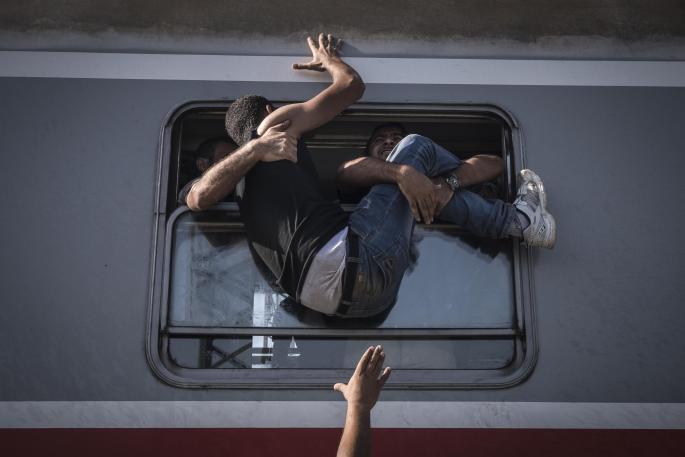 Sergey Ponomarev, Russia, Reporting Europe's Refugee Crisis 002