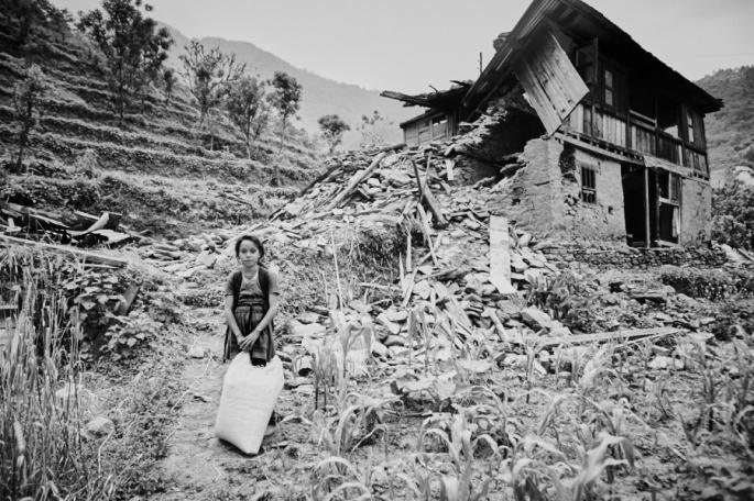 Rohan Shrestha, Hindistan, Nepal Depremi 2015