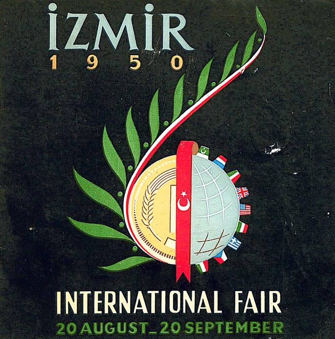 1950 İzmir Fuarı Broşürü Kapağı