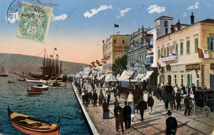 Tarihi İzmir Limanı 001