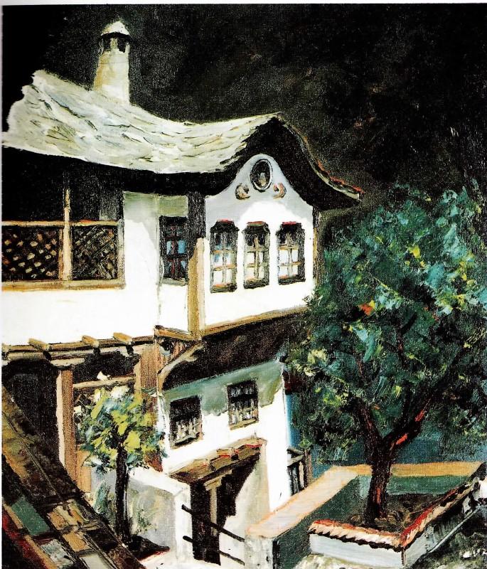 21 Ethem Baymak, Bosna Hersek'ten, 42x50 cm, Tuval Üzerine Yağlıboya