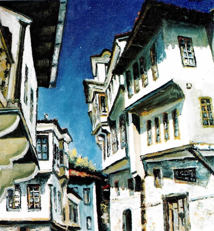 22 Ethem Baymak, Bosna Hersek'den, 49x53 cm, Tuval Üzerine Yağlıboya