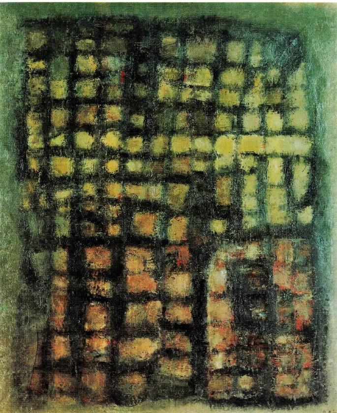 27 Şeref Bigalı, Mezar Taşı, 55x65 cm, Duralit Üzeri Yağlıboya (1964)
