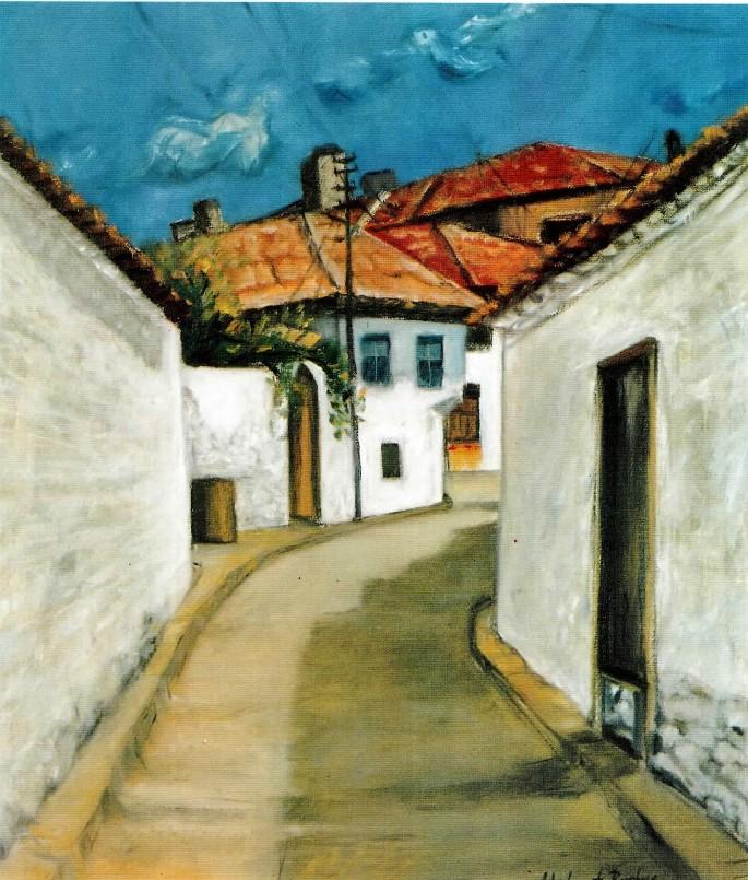 30 Mehmet Boztaş, Buca'dan, 50x60 cm, Tuval Üzerine Yağlıboya (1996)
