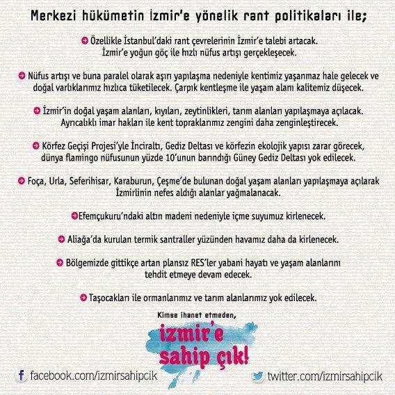 İzmir'e Sahip Çık