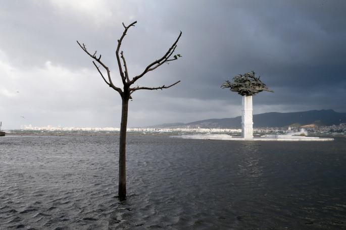 İzmir'de fırtına