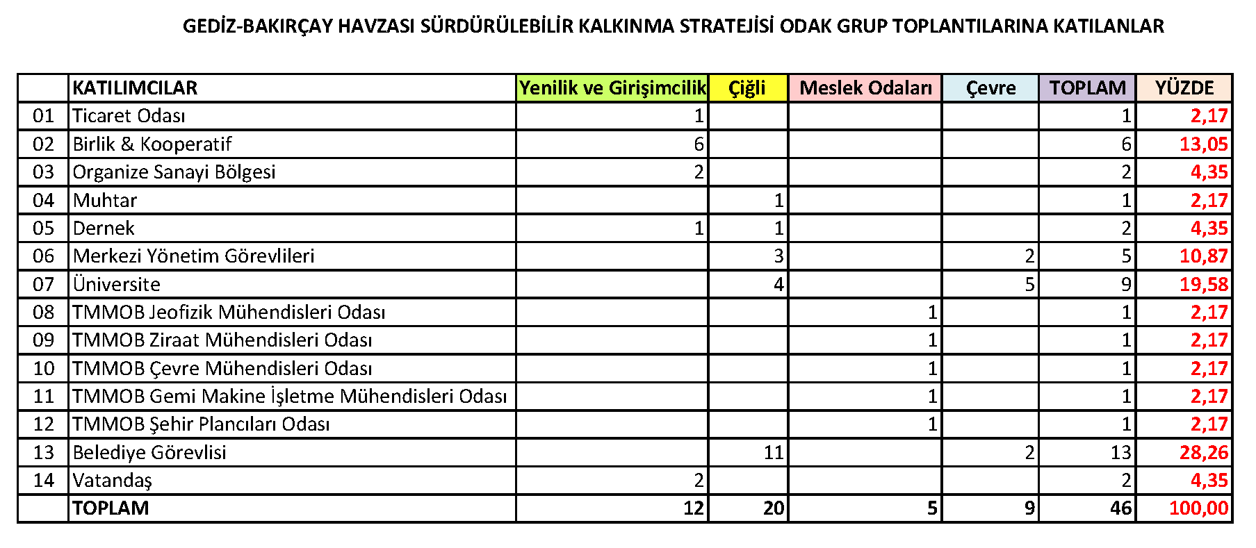 Odak Grup Toplantısı Analizi