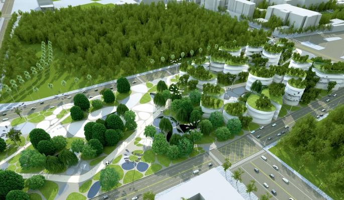 Urban Redevelopment Project at Tainan Main Station Area by Maxthreads04