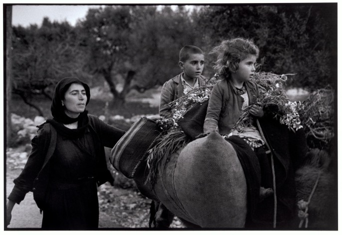 "GREECE. Crete. Kritsa. 1964. Going home from the fields. ""A Greek Portfolio"""