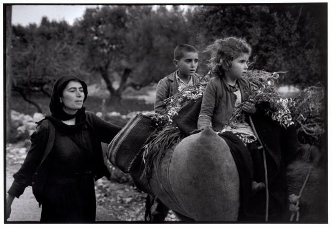 "GREECE. Crete. Kritsa. 1964. Going home from the fields. ""A Greek Portfolio"""