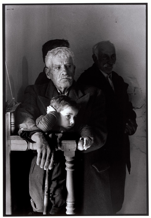 "GREECE. Karpathos. Olympos 1966. In Church. ""A Greek Portfolio"""