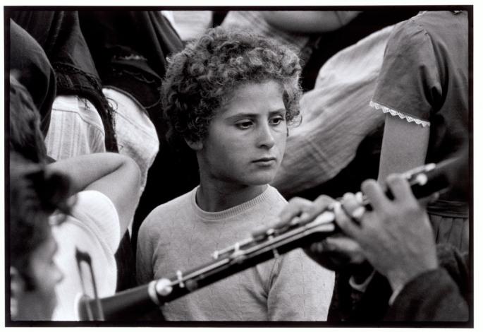 "GREECE.  Thrace.  1964.  Girl at a village festival. ""A Greek Portfolio""  p.77"