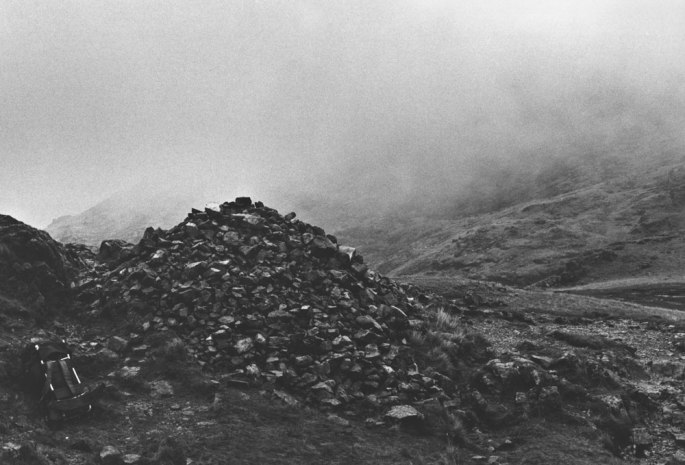 A Thousand Stones Added To The Footpath Cairn - England 1974