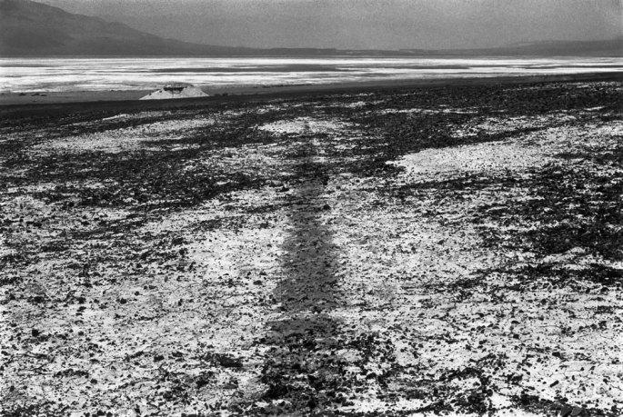 14 Sea Level Waterline Death Valley California 1982