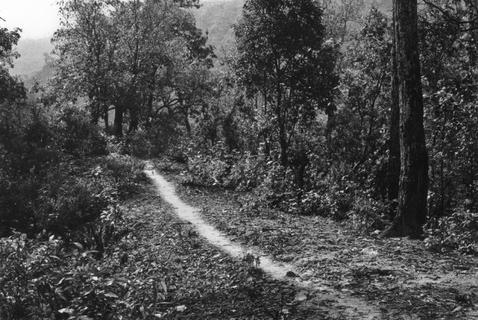 15 Brushed Path A Line In Nepal A 21 Day Footpath Walk 1983