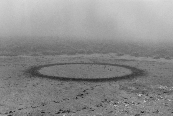 16 Walking A Circle In Mist Scotland 1986