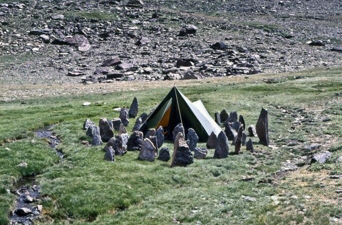 17 Camp-Site Stones Sierra Nevada Spain 1985