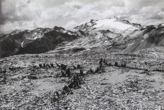 33 Alpines Stones A Thirteen Day Mountain Walk Beginning And Ending In Leuk Switzerland 2000