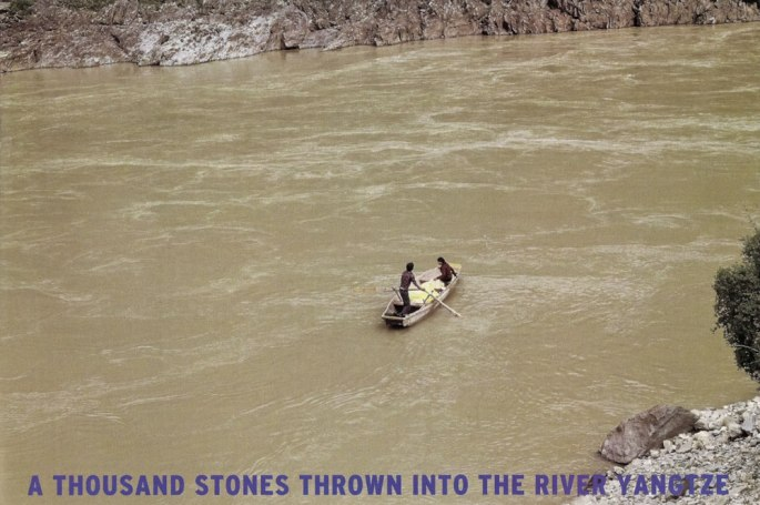 67 A THousand Stones Thrown Into The River Yangtze China 2010