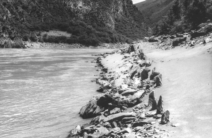 69 River Yangtze Stone Line China 2010