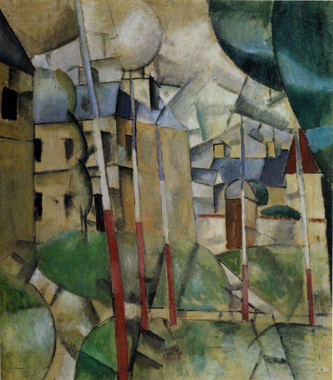 Fernand_Léger,_1912-13,_Paysage_(Landscape),_oil_on_canvas,_92_x_81_cm