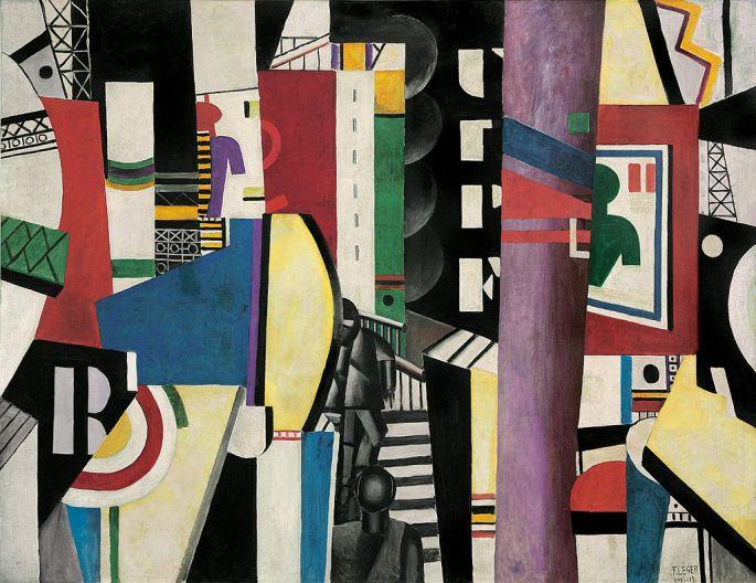 Fernand_Léger,_1919,_The_City_(La_Ville),_oil_on_canvas,_231.1_x_298.4_cm,_Philadelphia_Museum_of_Art