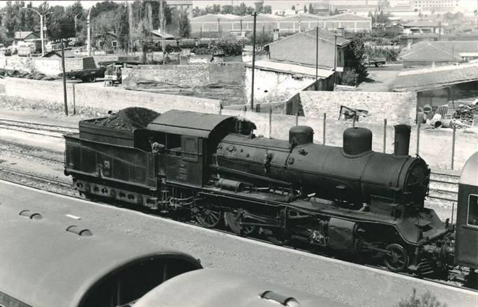 Halkapınar İstasyonu 1974