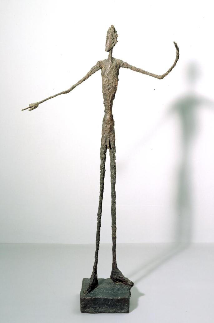 Man Pointing 1947 by Alberto Giacometti 1901-1966