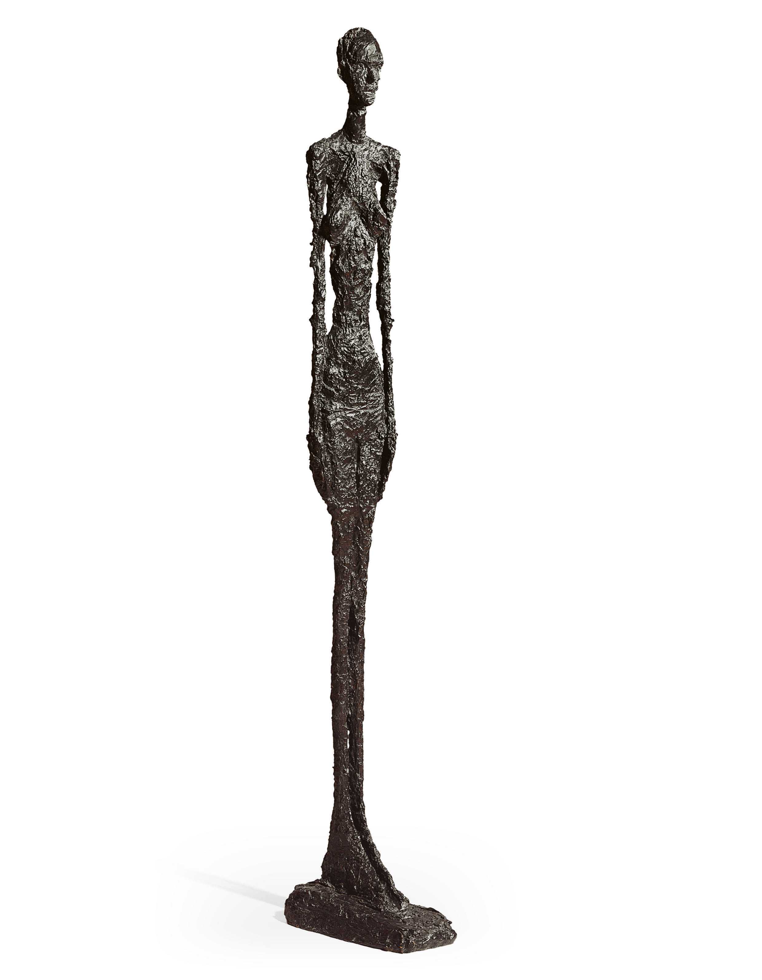 Uzun Boyunlu Kadın Ayakta